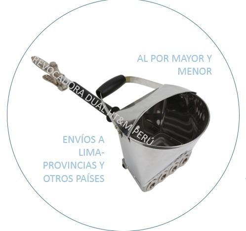 Equipo De Tarrajeo Paredes Y Techos Construcción-inoxidable