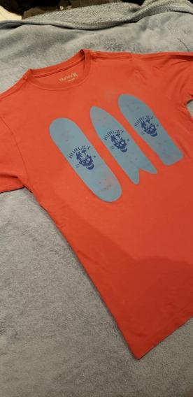 Camiseta Hurley Original - M - Cor Salmão
