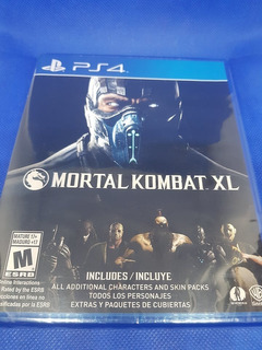 Mortal Kombat Xl Ps4 Nuevo Y Sellado