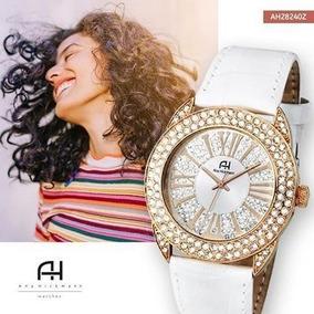 Relógio Feminino Ana Hickmann Analógico Ah28240z Branco