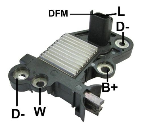 Imagem 1 de 1 de Regulador Voltagem 14v Bosch Clio Sandeiro Kangoo Duster 1.6