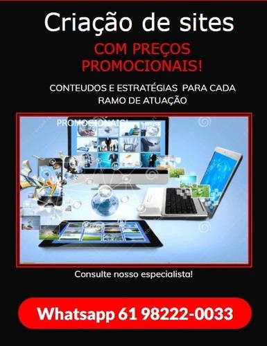 Imagem 1 de 1 de Criação De Sites- Grande Promoção À Partir De R$ 60,00