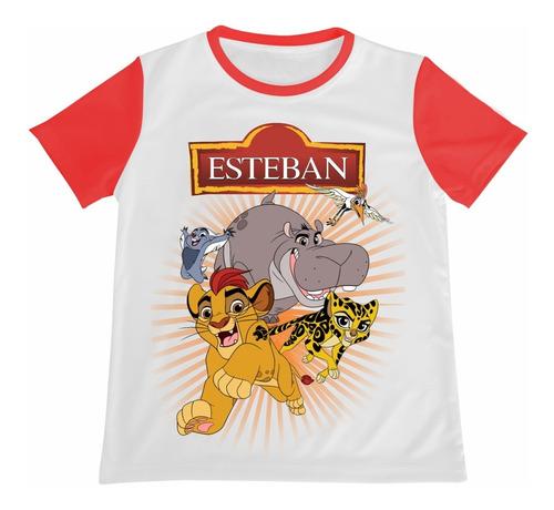 Camiseta La Guardia Del Leon Rey Leon Personalizada