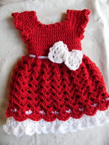 Vestido De Croche Infantil 3 Anos Vestidos Para Meninas