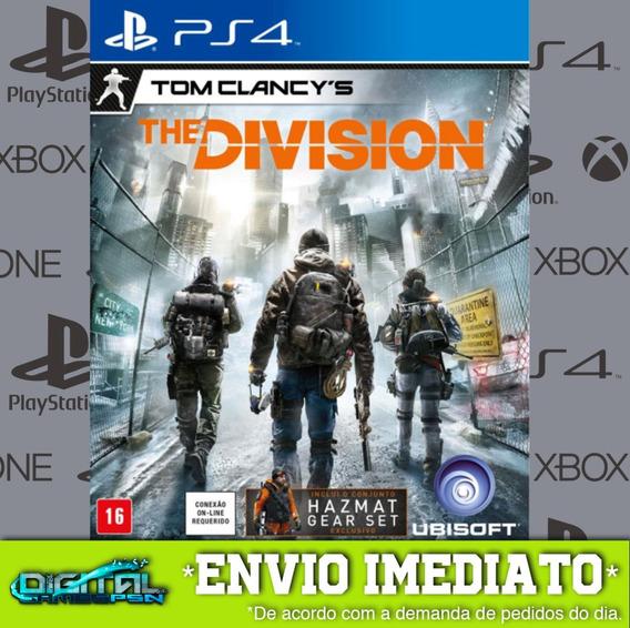 Tom Clancys The Division Ps4 Digital Game Envio Já!