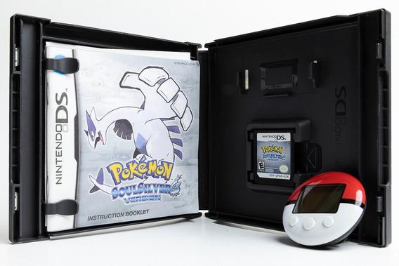 Jogo Pokemon Soulsilver (para Nintendo Ds) Com Pokewalker