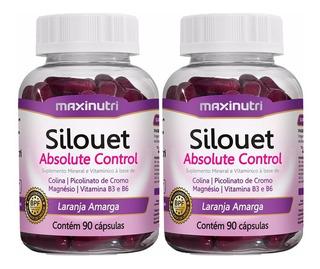 Kit 2x Silouet Absolute - Maxinutri # Ideal Para Emagrecer