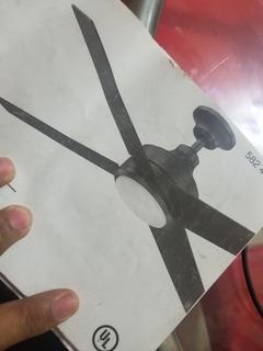 Abanico De Techo Con Lámpara Y Control Remoto