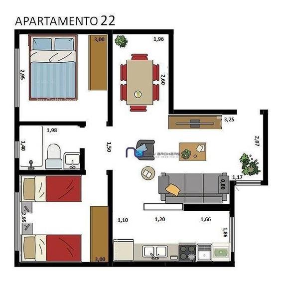 Apartamento Com 2 Dormitórios Para Alugar, 48 M² Por R$ 1.800/mês - Tatuapé - São Paulo/sp - Ap4059