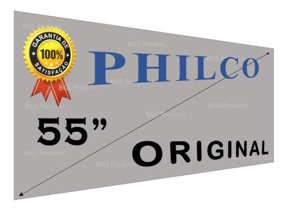Película 55 Polarizada P/ Tvs Philco Todos Modelos + Brinde