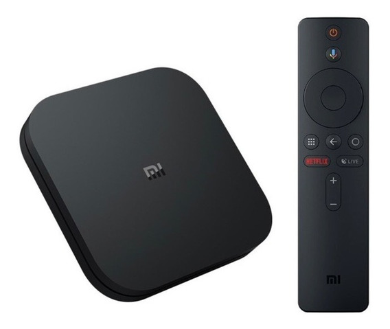 Tv Box Xiaomi Original Mi Box S 4k Android Tv Versão Global
