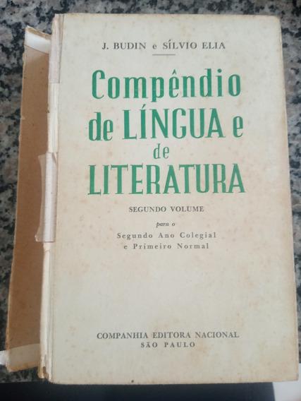 Livro Compendio De Língua E De Literatura - Segunda Serie