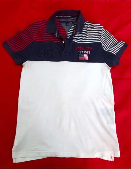 Playera Tommy Hilfiger Original Talla S Usa/no Lacoste Polo