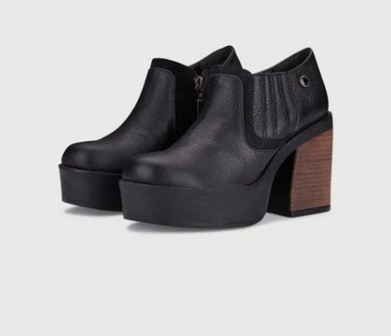Zapato Viamo Taco Separado Modelo Bahiana (otoño-invier2020)