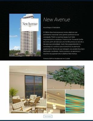 Ed. New Avenue Em Construção Atras Av. Fernando Correa - Ap0646
