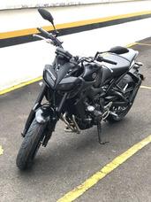 Yamaha Mt 09 850 Cc Negra, Casi Nueva, Solo 600 Kms