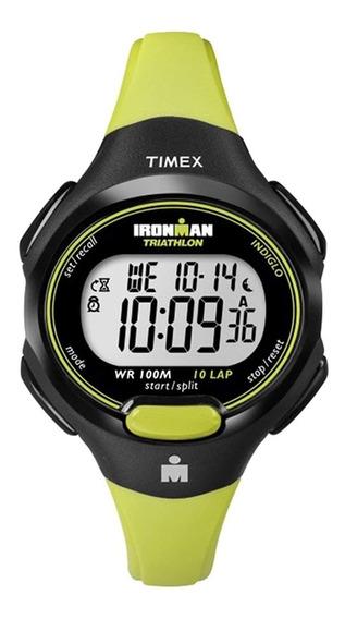Reloj Dama Timex Ironman Deportivo T5k527 Original Digital
