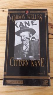 Ciudadano Kane Citizen Kane Vhs Original Orson Welles