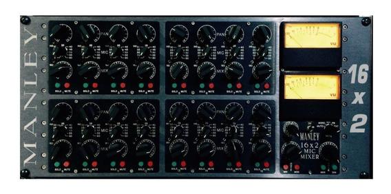 Manley Mic Mixer - 16 Prés De Microfone E Summing Mixer