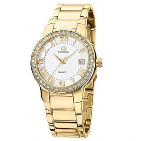 Relógio Feminino Dourado Strass Ana Hickmann Colecionadores