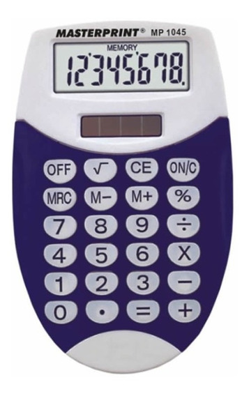 Calculadora Manual 8 Dígitos - Mp 1045