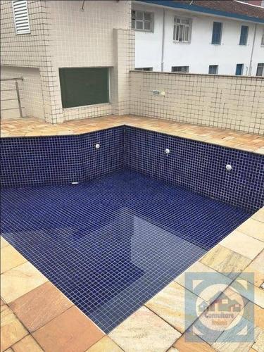 Imagem 1 de 24 de Casa Com 4 Dormitórios Para Alugar, 440 M² Por R$ 12.000,00/mês - Campo Grande - Santos/sp - Ca0873