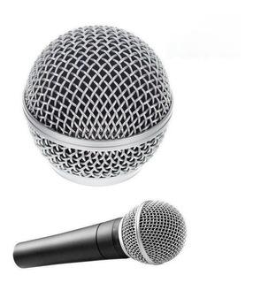 Parrilla De Micrófono De Repuesto Para Shure Sm58 Sm58lc Sm5