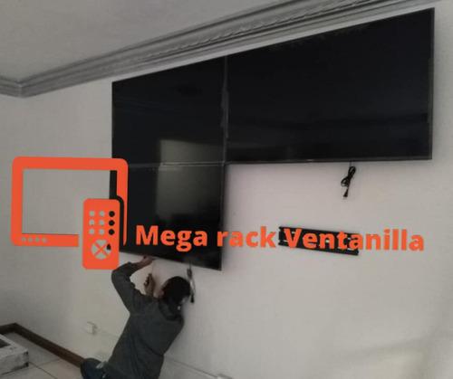 Imagen 1 de 6 de Instalacion De Repisas Soportes Racks Para Televisores