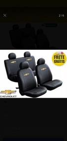 Kit 2 Capas Banco Couro Ecológico Chevrolet