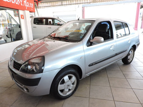Renault Clio Sedan 1.6 16v Priv Flex Único Dono Ipva Pago
