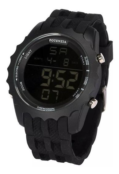 Relógio Masculino Digital Original Potenzia 18k Revenda