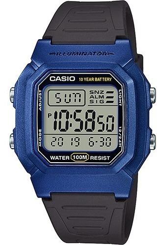 Relógio Unissex W-800hm-2 Azul