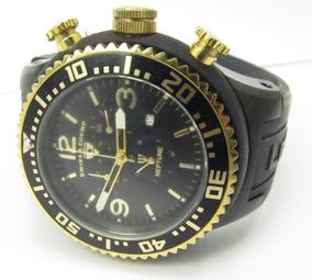 Relogio Swiss Legend Netune Sl11812pbb01 Detalhes Ouro 18k