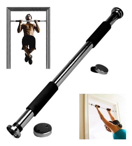 Imagen 1 de 5 de Barra Ejercicio Puerta  Ajustable 2 Kg Fitness  Ml02343