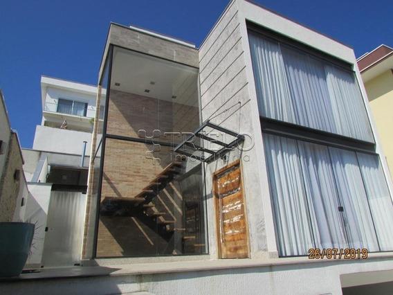 Venda-sobrado Em Condominio Com 3 Dorms-2 Suites-4 Vagas-mosaico Da Serra-mogi Das Cruzes-sp - V-2692