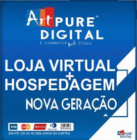 Loja Virtual Nova Geração + App Android