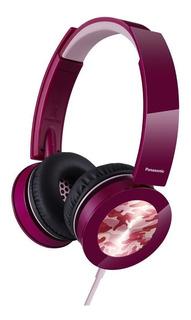 Auriculares Tipo Vincha Panasonic Rphxs400ep Color Purpura