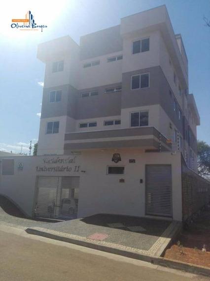 Apartamento Com 2 Dormitórios À Venda, 55 M² Por R$ 170.000 - Cidade Universitária - Anápolis/go - Ap0386