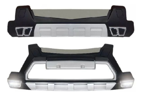 Over Bumper Tracker 2012/15 Diant.+ Tras Com Led Original Gm