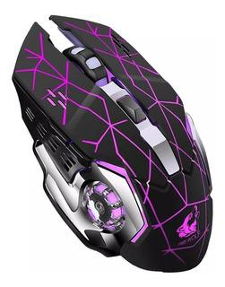 Mouse Inalambrico Recargable Gamer Pro 2400 Dpi