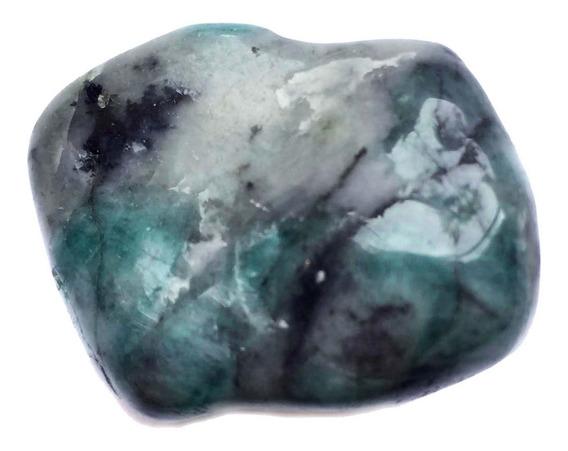 Pedra Cristal Esmeralda Natural Cura Equilíbrio Verde 883