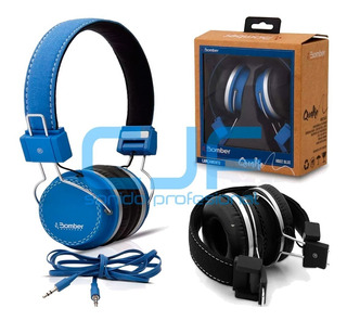 Auriculares Bomber Quake Hb02 Azul O Negro Hifi Oferta!! Cjf