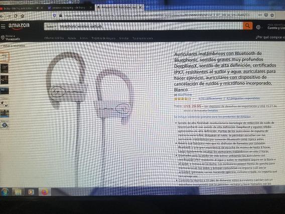Auriculares Inalambricos Con Bluetooth De Bluephonic