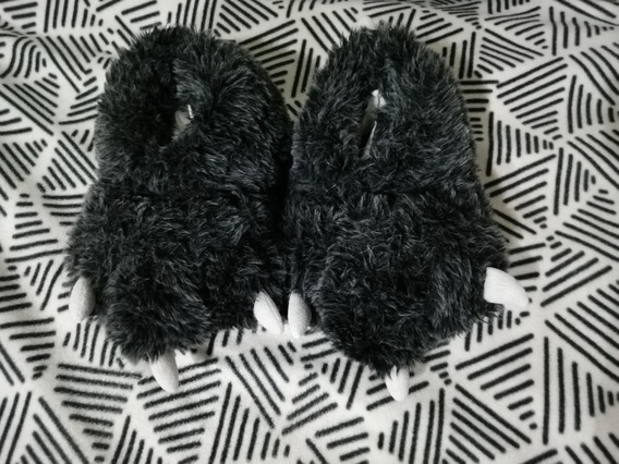 Pantuflas Garras Como Nuevas N 42
