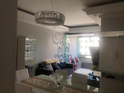 Imagem 1 de 30 de Costa Azul, 3 Quartos, Sendo 1 Suíte, Todos Com Móveis Planejados, Sala Grande, Com 2 Vagas - Ag103 - 69368544