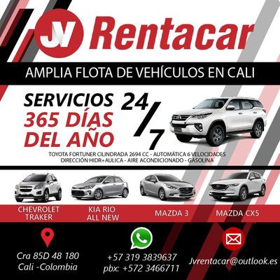 Alquiler Carros-camionetas En Cali- Jvrentacarcali