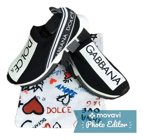 Tênis Dolce & Gabbana Frete Grátis Novo Promoção