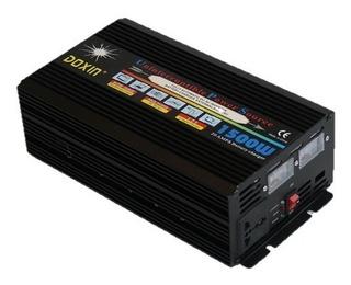 Inversor 1500w Cargador Baterias Función Ups 12v Dc /110 Vac