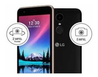Lg K4 Lite 2017 8gb Cam 8pm Libre Nuevo Sellado - Negro
