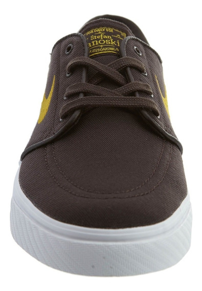 Tenis Nike Stefan Janoski Canvas Marron Original 2bros